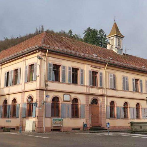 L'école élémentaire de Sainte-Croix-aux-Mines