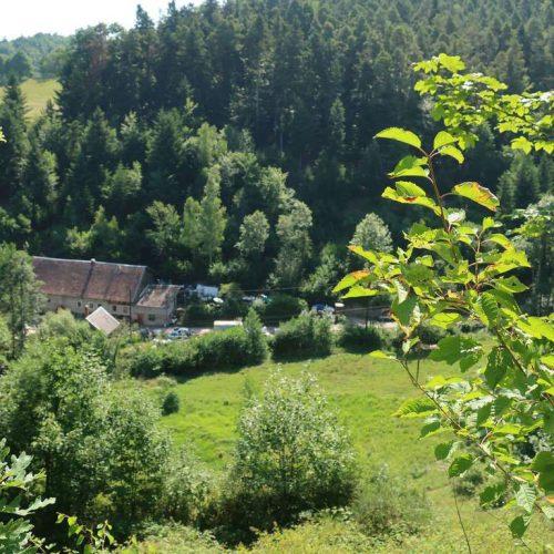 Sainte-Croix-aux-Mines au coeur de la fôret